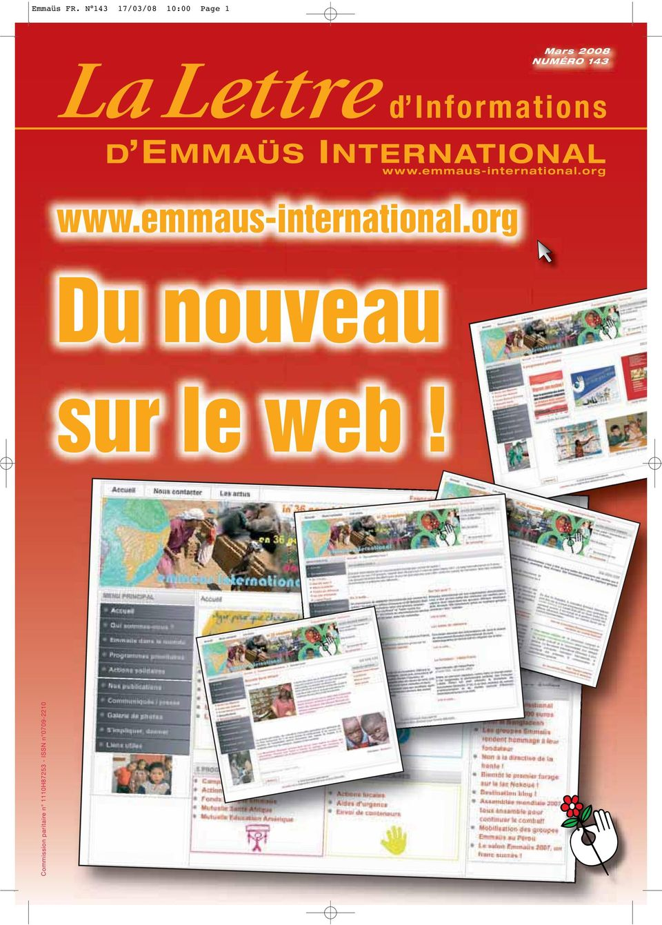 w w w.emmaus-international.org www.emmaus-international.org Du nouveau sur le web!