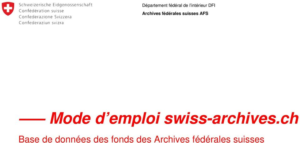 emploi swiss-archives.