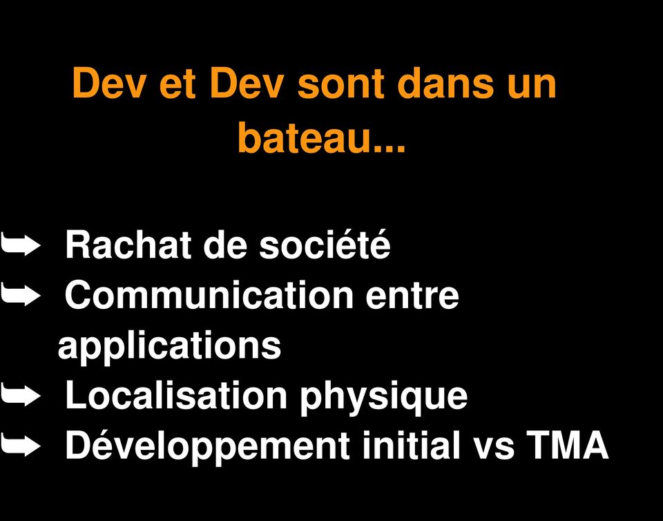 Communication entre applications