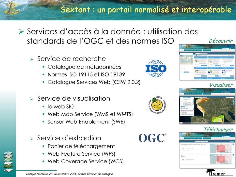 Services Web (CSW 2.0.