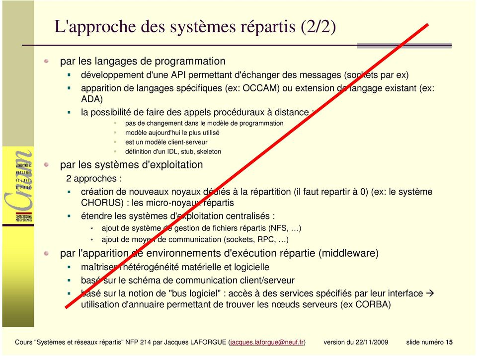 Introduction aux syst mes r partis pdf - Systeme centralise definition ...