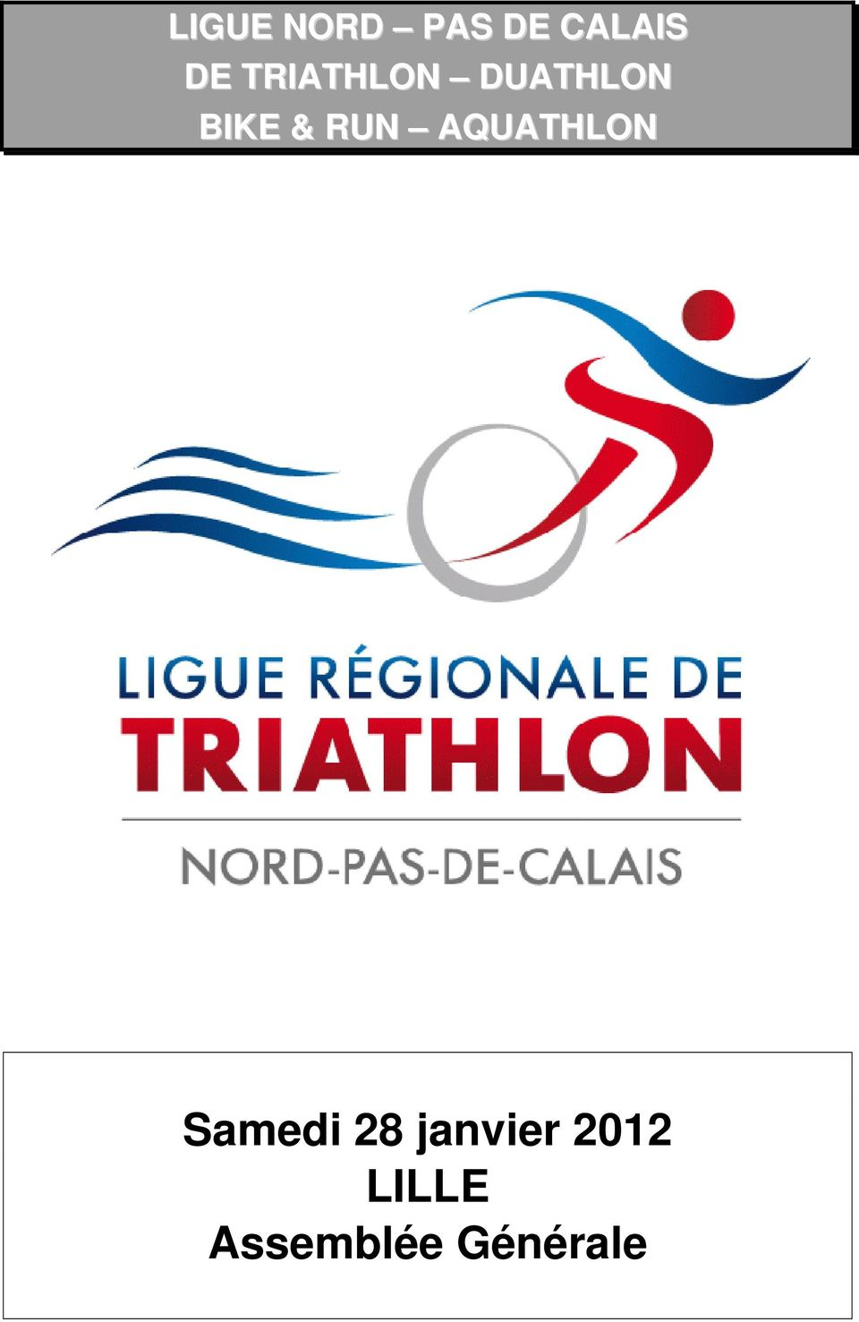 RUN AQUATHLON Samedi 28