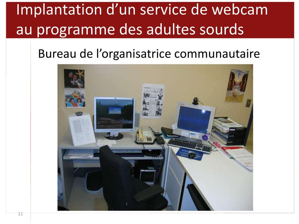 adultes sourds Bureau de l