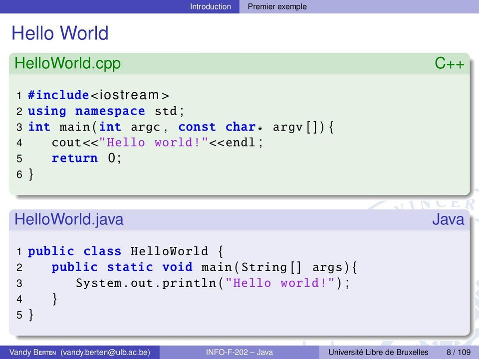 "cout <<"" Hello world!""<<endl ; 5 return 0; 6 } HelloWorld."