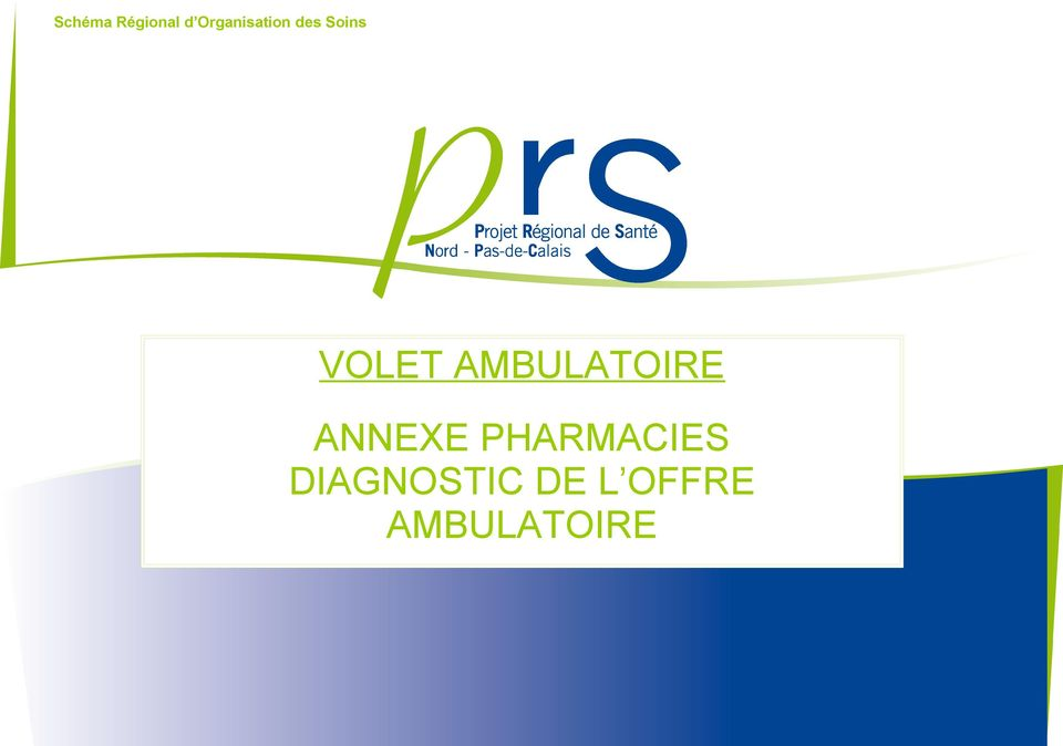 DIAGNOSTIC DE L