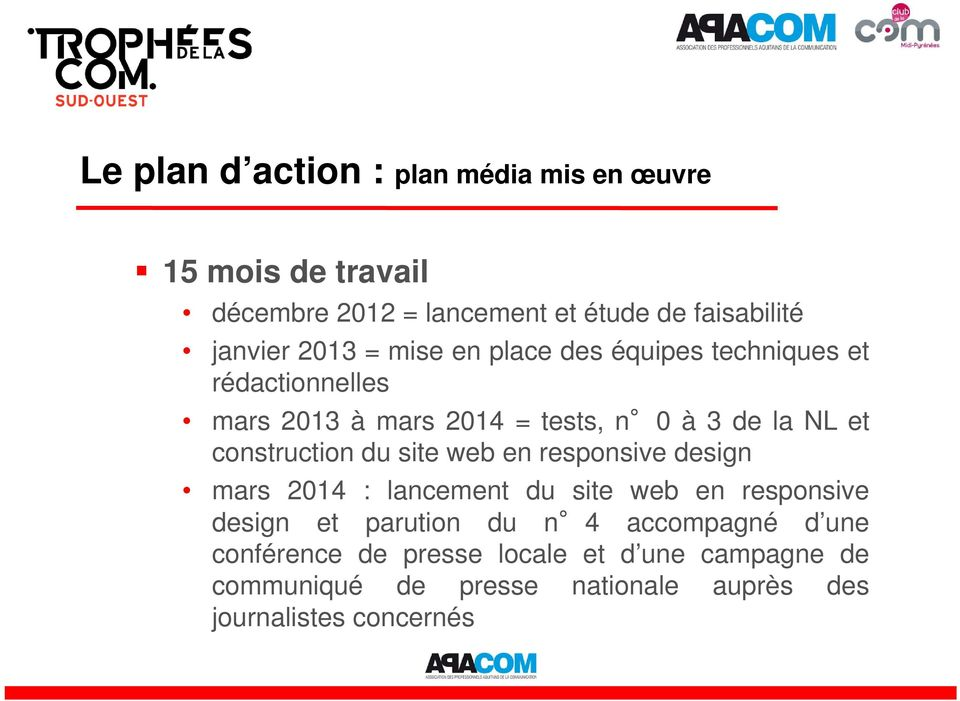 construction du site web en responsive design mars 2014 : lancement du site web en responsive design et parution du n 4