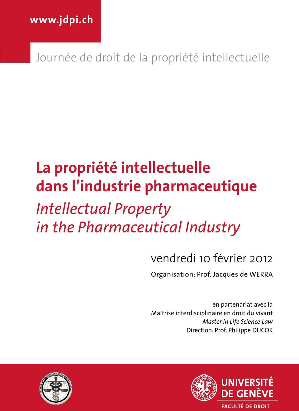 industrie pharmaceutique Intellectual Property in the Pharmaceutical Industry vendredi 10
