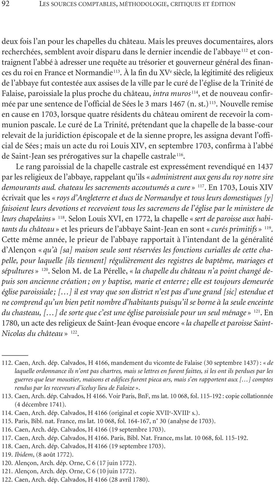 finances du roi en France et Normandie 113.