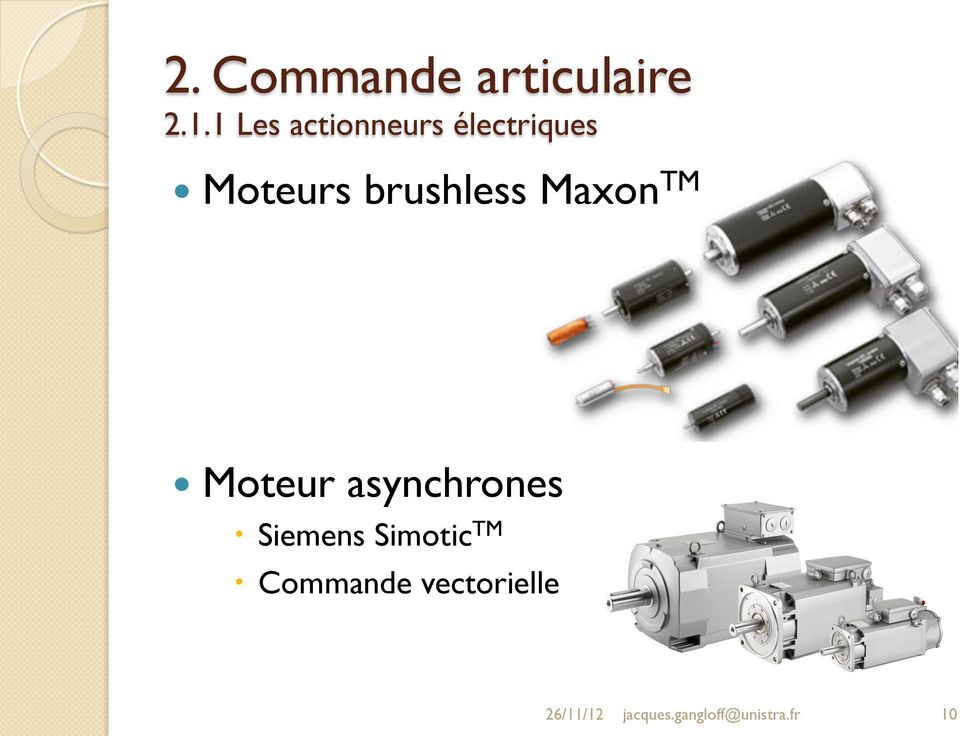 asynchrones Siemens Simotic TM Commande