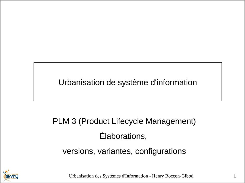 Lifecycle Management)