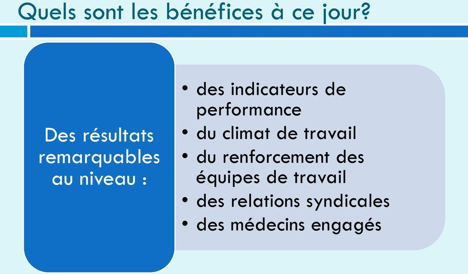 indicateurs de performance du climat de travail du