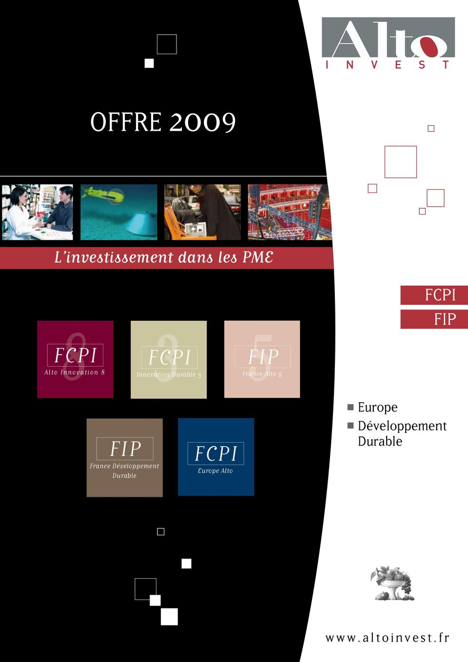 Innovation Durable 3 Europe Alto 5 FIP France