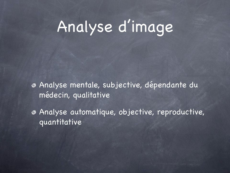 qualitative Analyse automatique,