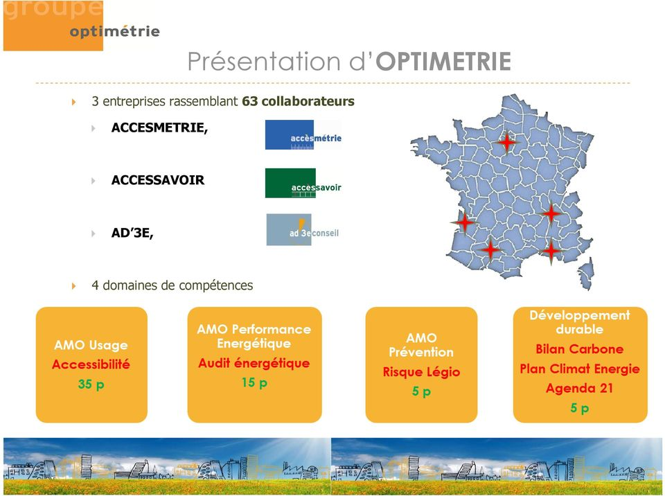 collaborateurs ACCESMETRIE,