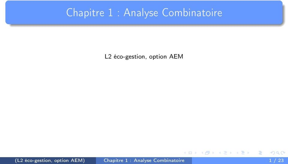 option AEM (L2 éco-gestion,