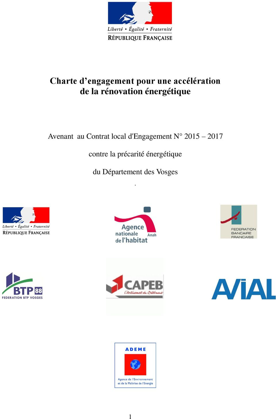 local d'engagement N 2015 2017 contre la