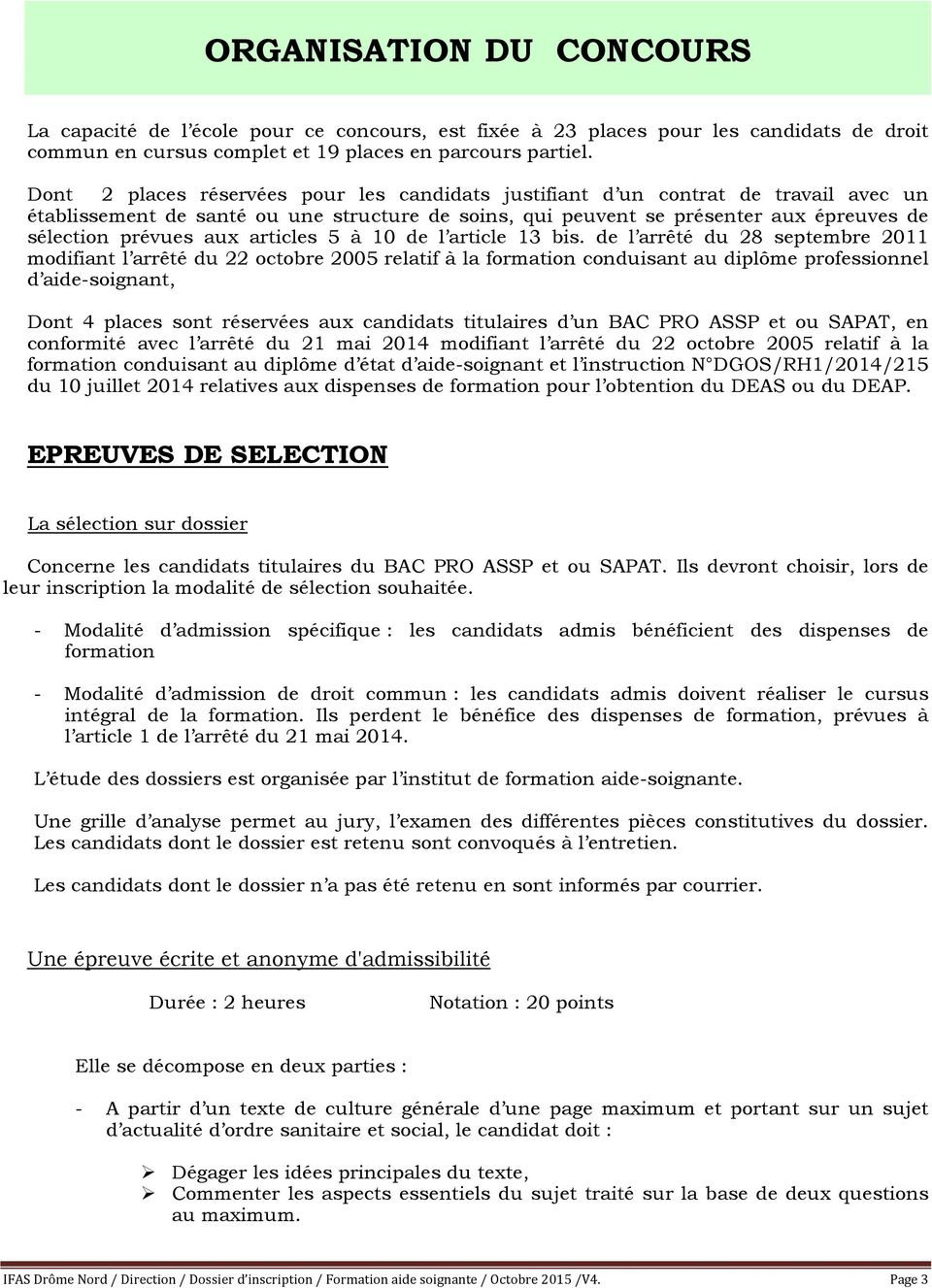 articles 5 à 10 de l article 13 bis.