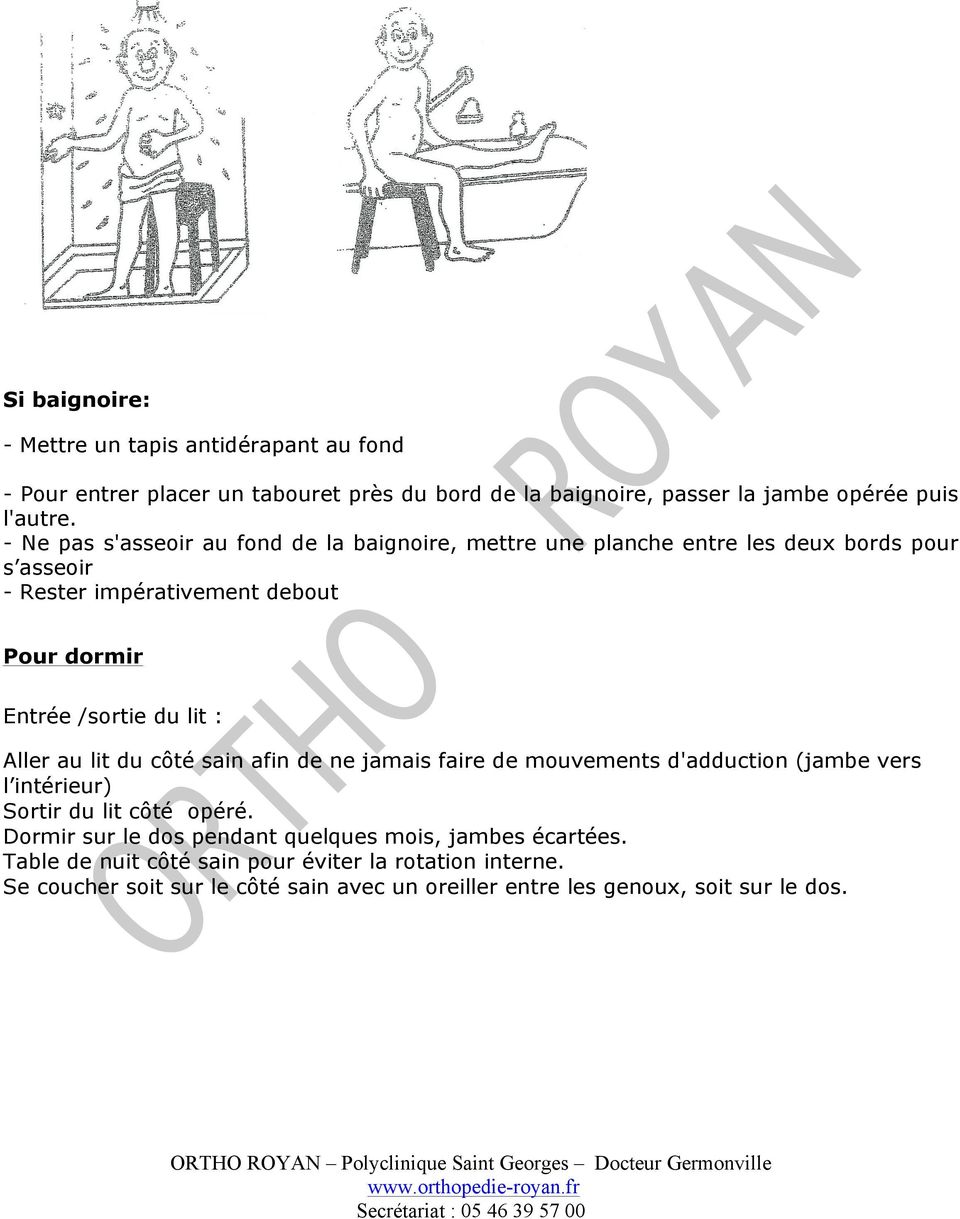 vivre avec une proth se totale de hanche pdf. Black Bedroom Furniture Sets. Home Design Ideas