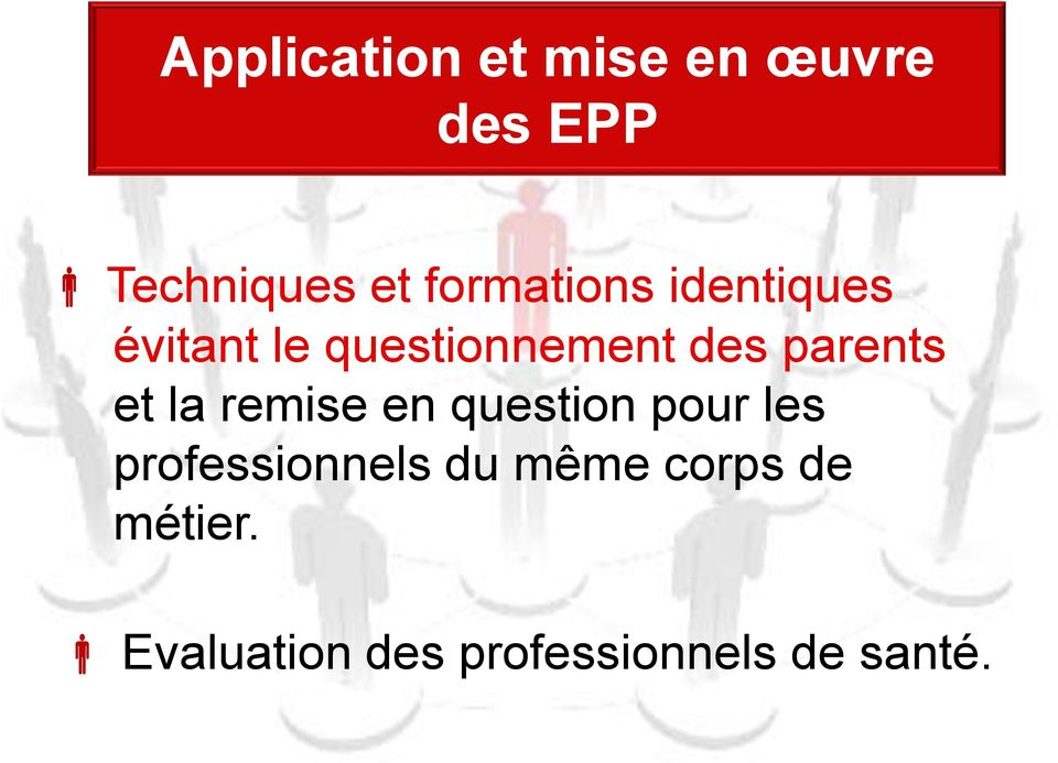 parents et la remise en question pour les