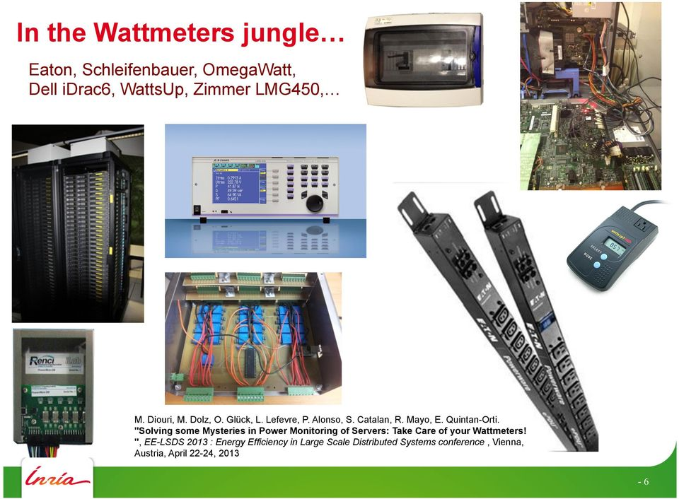 """Solving some Mysteries in Power Monitoring of Servers: Take Care of your Wattmeters!"
