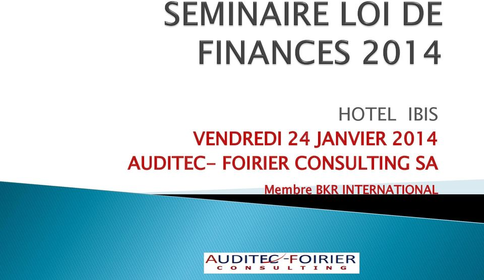 FOIRIER CONSULTING SA