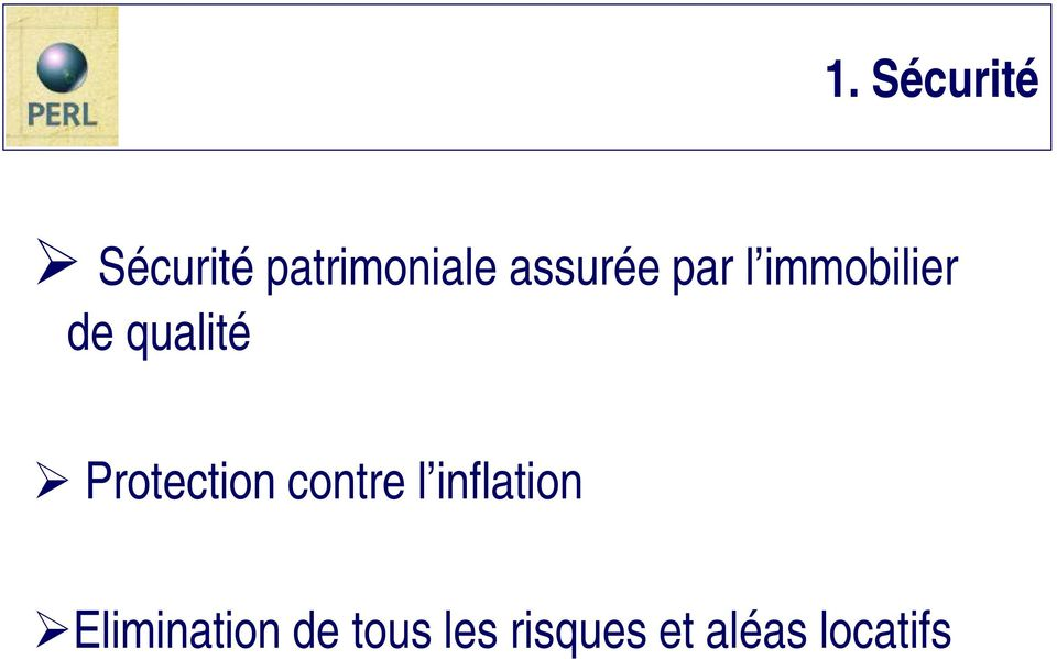 Protection contre l inflation