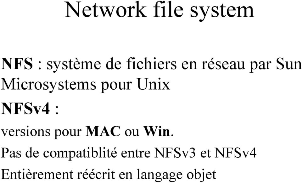 versions pour MAC ou Win.