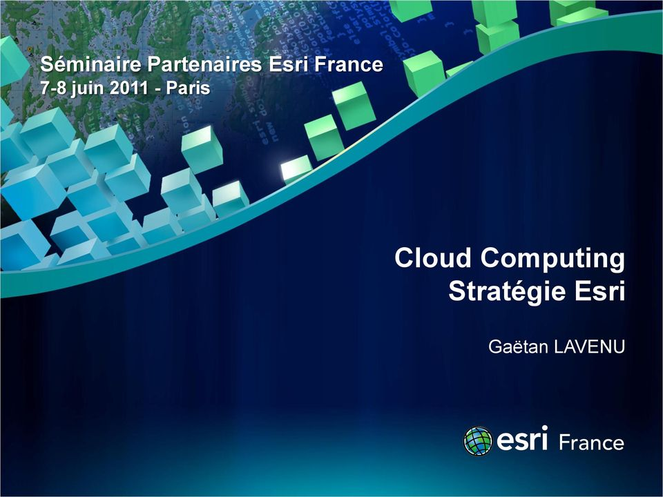 2011 - Paris Cloud