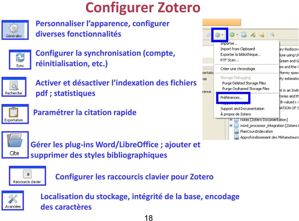 how to choose citation style in zotero