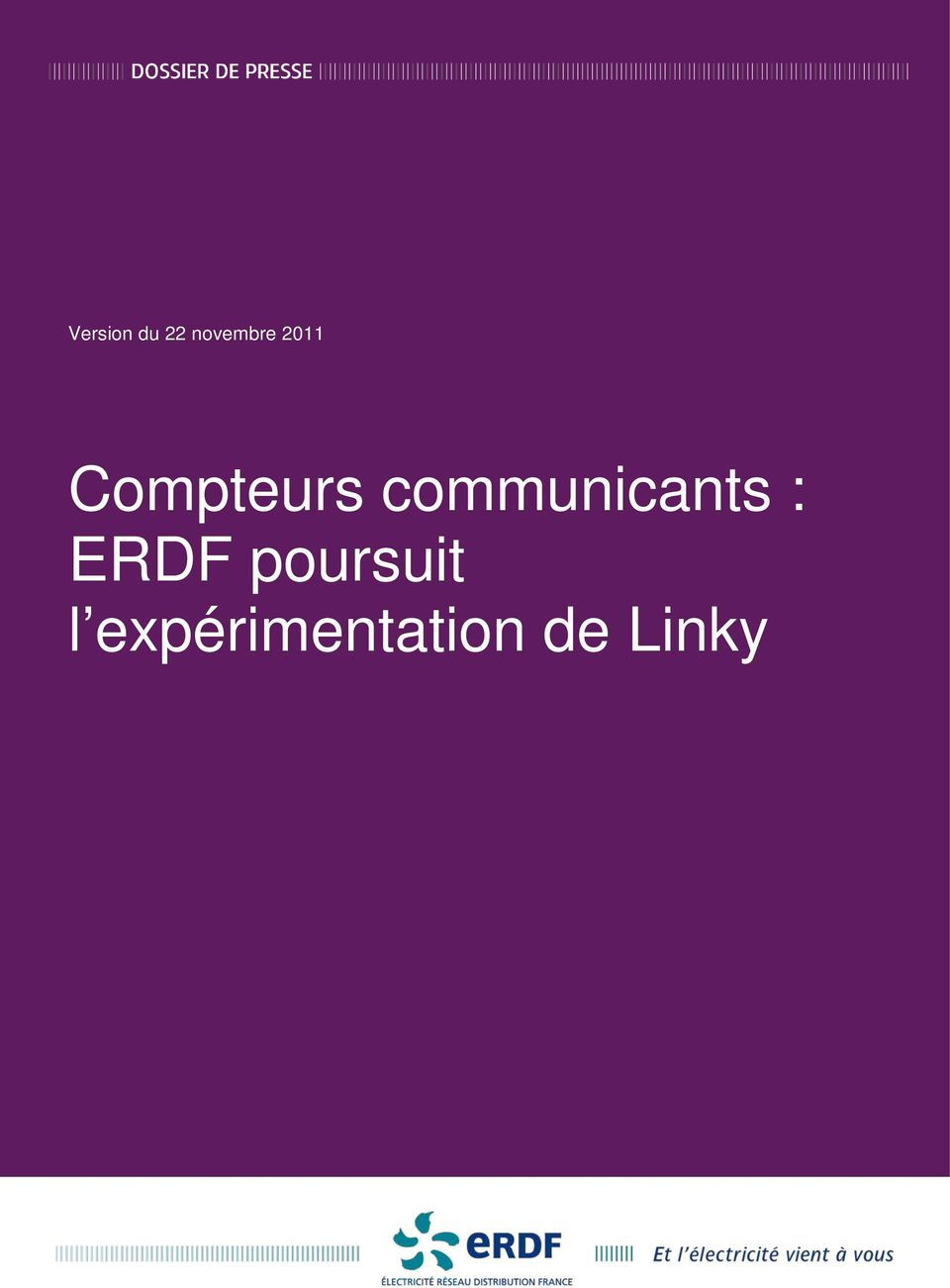 communicants : ERDF
