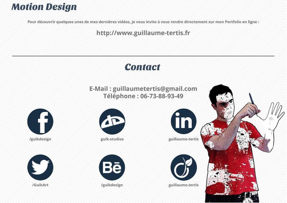 guillaume-tertis.fr Contact E-Mail : guillaumetertis@gmail.