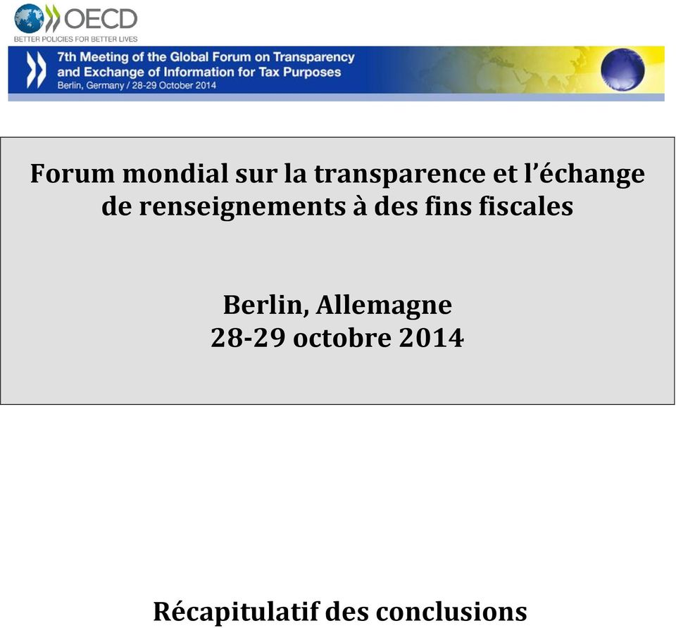 fins fiscales Berlin, Allemagne 28-29