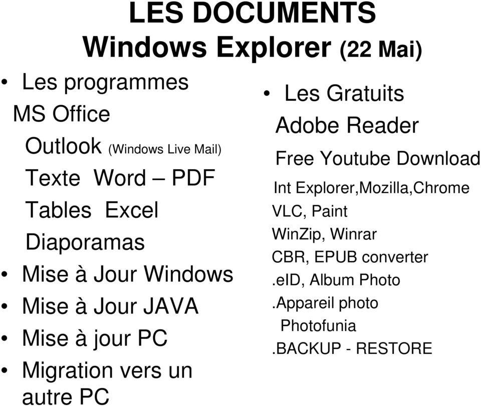 Migration vers un autre PC Les Gratuits Adobe Reader Free Youtube Download Int