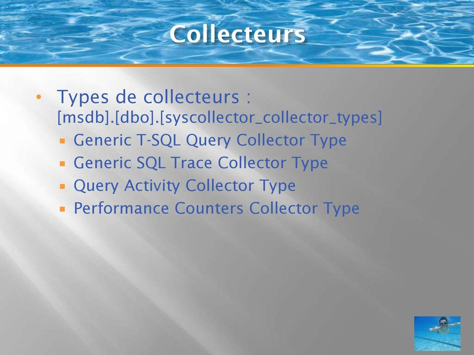 Collector Type Generic SQL Trace Collector Type