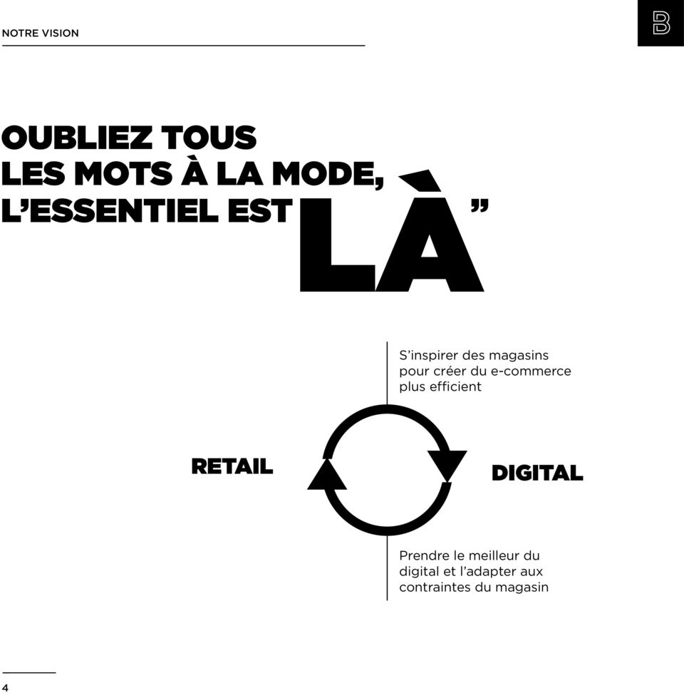 du e-commerce plus efficient RETAIL DIGITAL Prendre