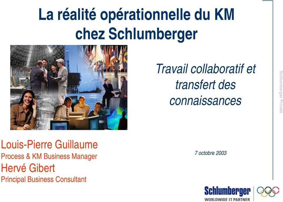 Louis-Pierre Guillaume Process & KM Business Manager