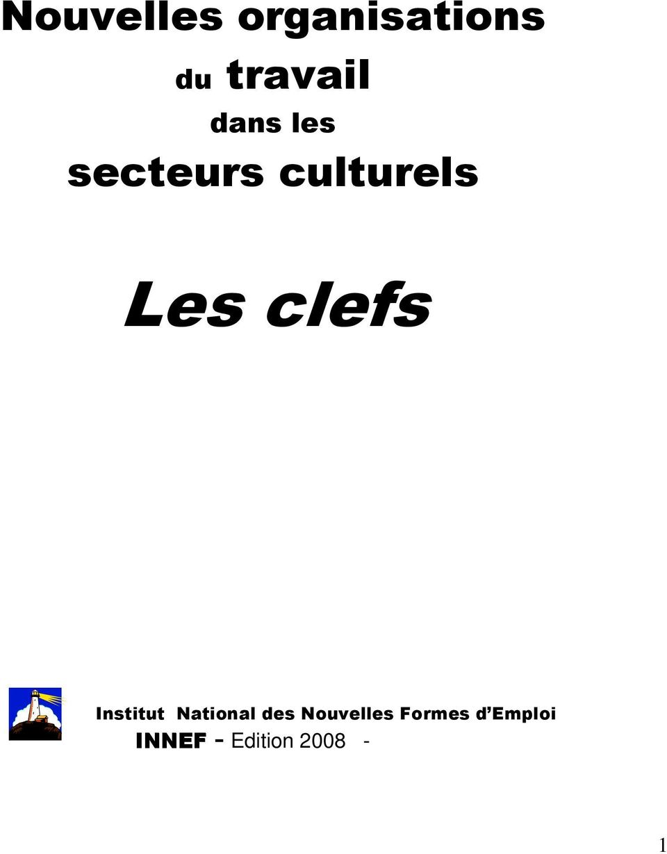 clefs Institut National des