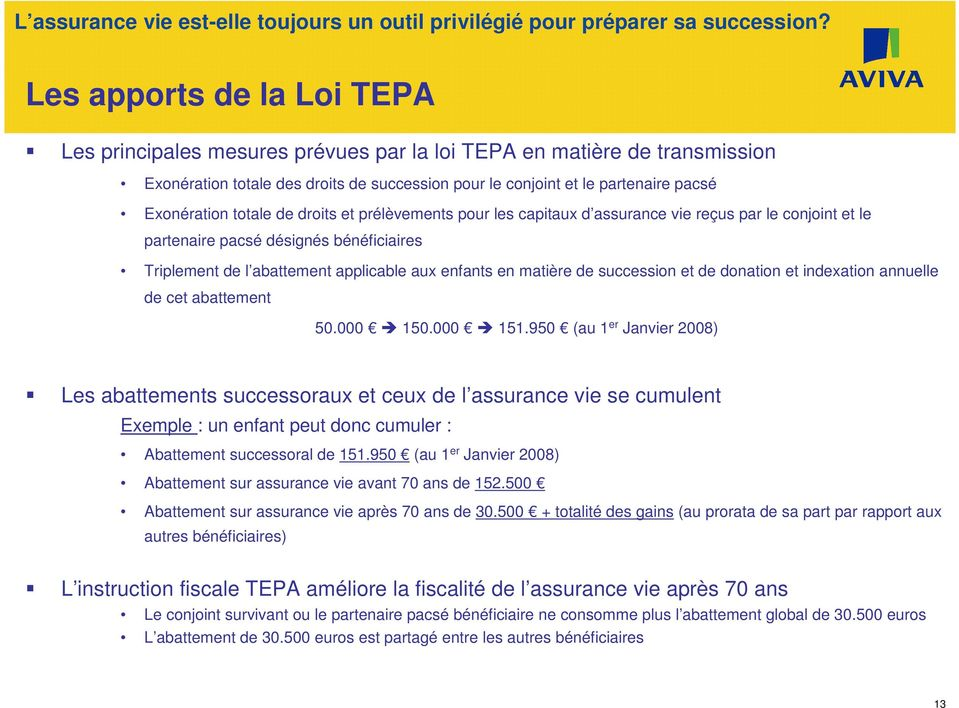 succession et de donation et indexation annuelle de cet abattement 50.000 150.000 151.