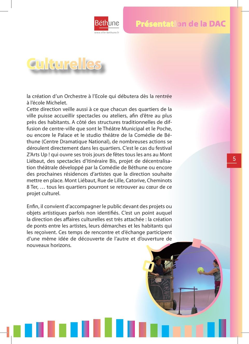 Guide culturel edition pdf for Ouverture piscine bethune