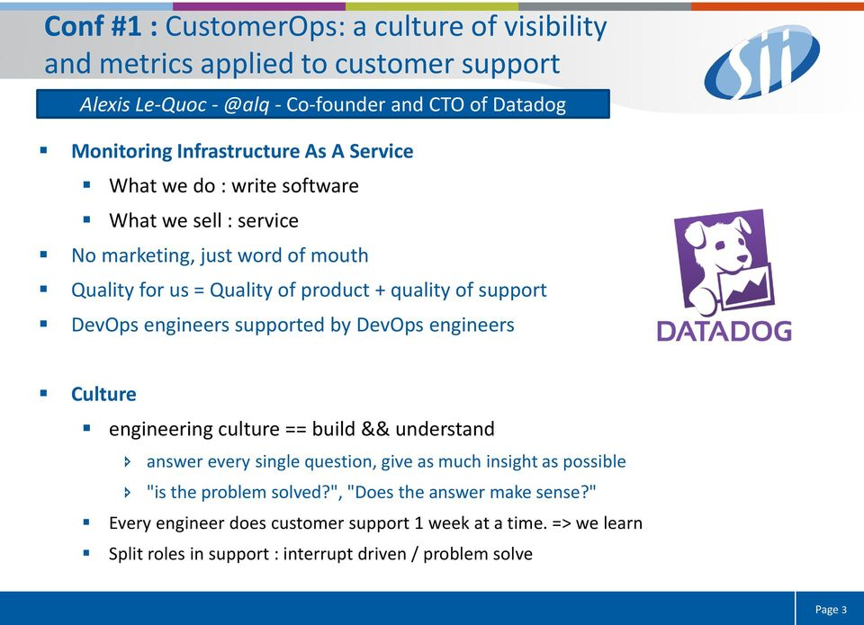 "engineers supported by DevOps engineers Culture engineering culture == build && understand answer every single question, give as much insight as possible ""is the"