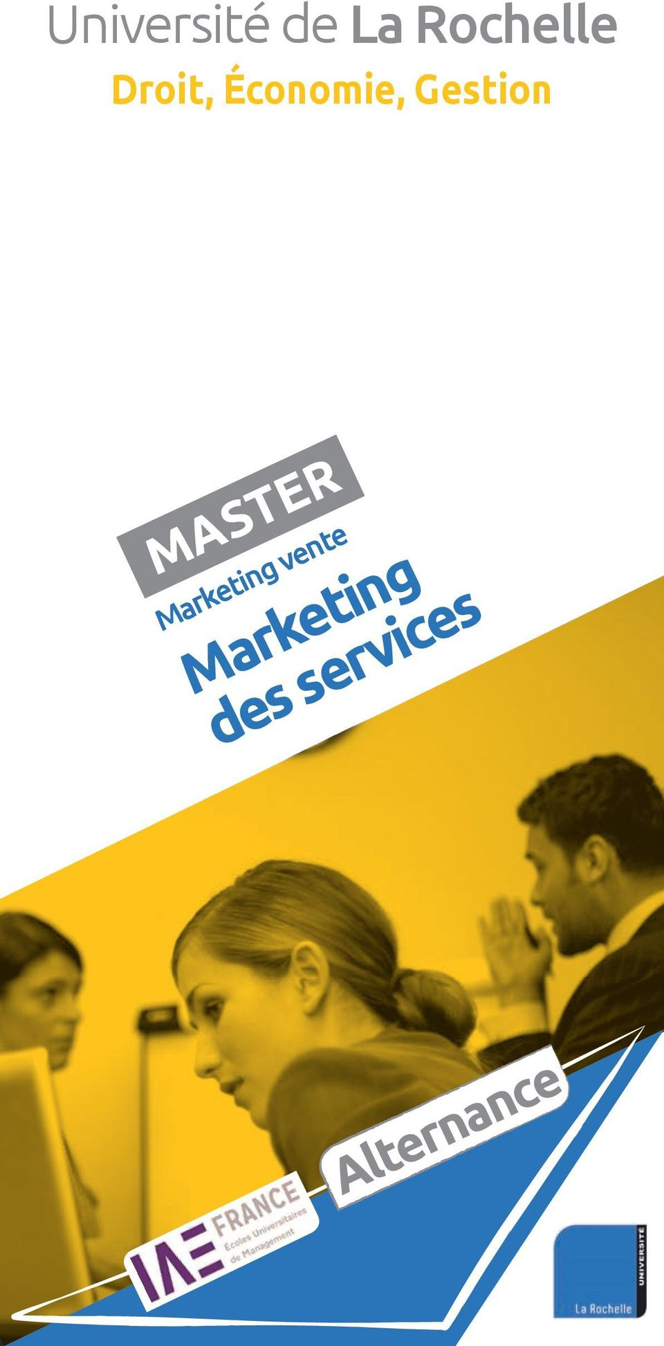 MASTER Marketing vente