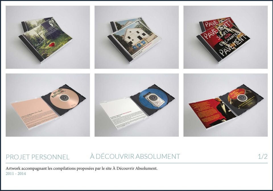 accompagnant les compilations