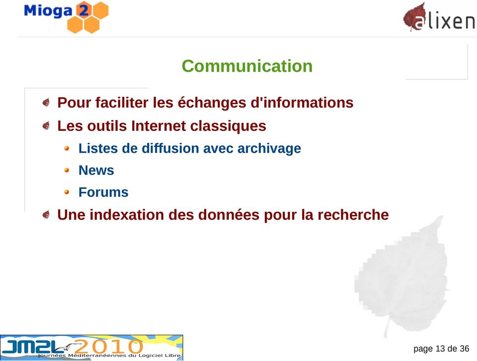 Listes de diffusion avec archivage News Forums