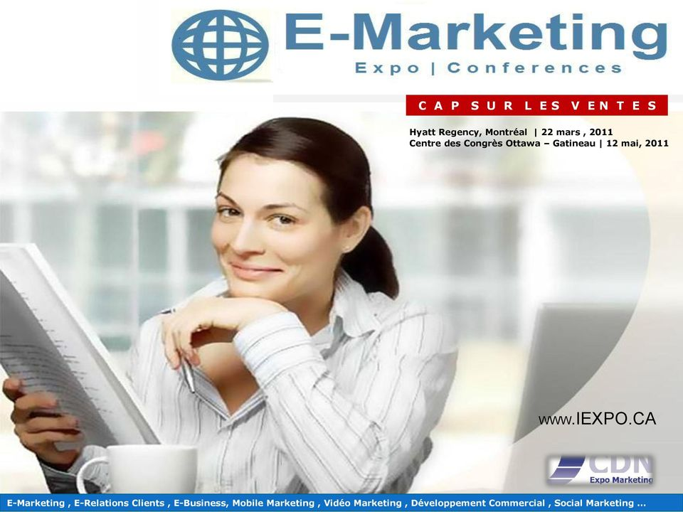 CA E-Marketing, E-Relations Clients, E-Business, Mobile