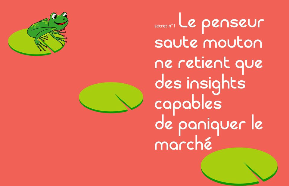 que des insights