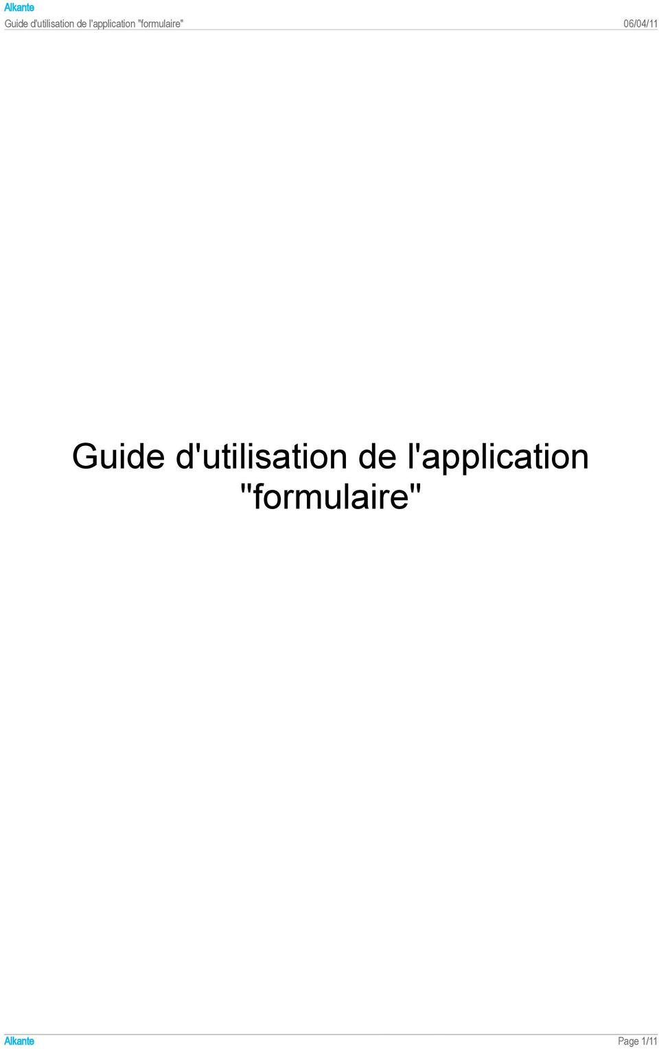 l'application