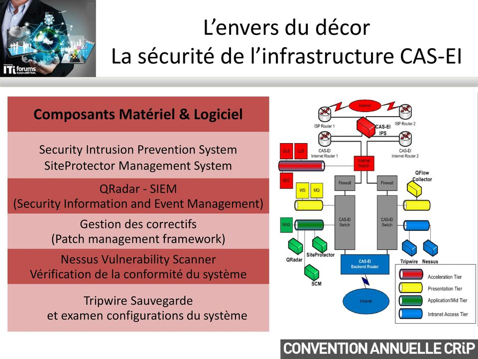 and Event Management) Gestion des correctifs (Patch management framework) Nessus Vulnerability