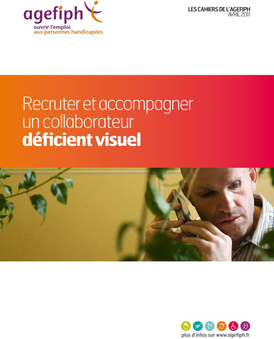 collaborateur déficient visuel