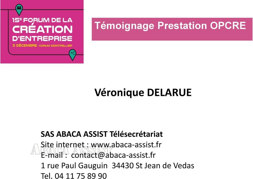 abaca-assist.fr E-mail : contact@abaca-assist.