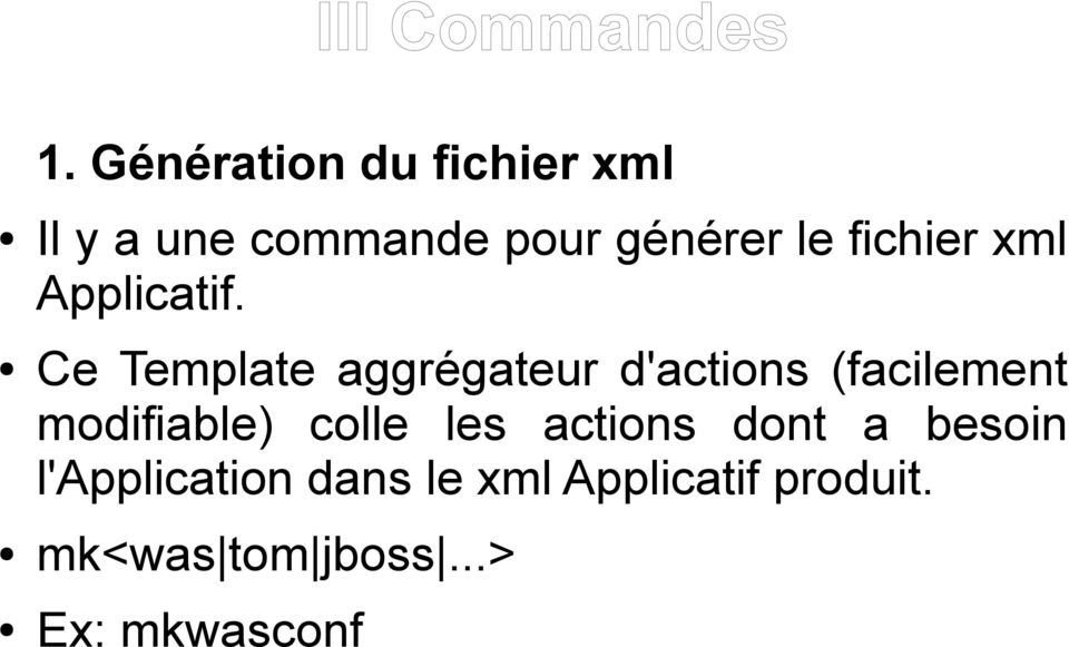 fichier xml Applicatif.